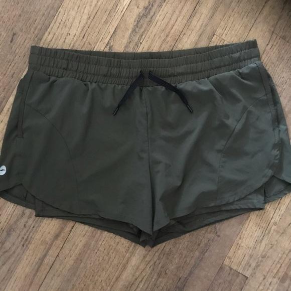 Avia Pants - Hunter Green Avia Athletic Shorts